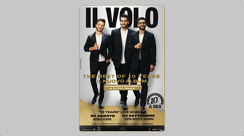 Il Volo returns to Italy with two special concert dates!