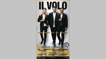 New concert dates in Italy with Il Volo!