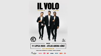 Il Volo announces a new concert date in Poland!