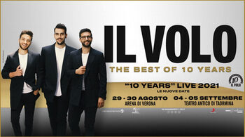 Il Volo: Verona and Taormina postponed to 2021