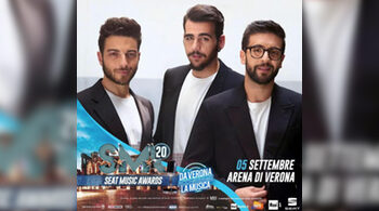 Il Volo ai Seat Music Awards 2020